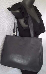 cc65c72545ef Image is loading Vintage-Balenciaga-Paris-Navy-Blue-Leather-Handbag