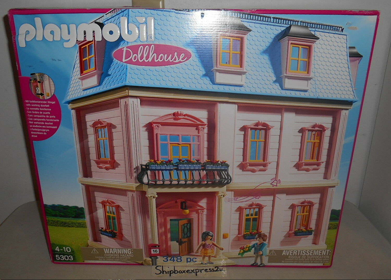 Nouveau Playmobil 5303 Deluxe Dollhouse Playset