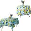 miniature 23 - Imperméable Nappe Home Table de salle à manger Protecteur Rond/Rectangulaire Table Housse