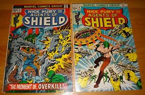 AGENTS-OF-SHIELD-3-4-STERANKO-COVERS-1973-3-7-0-4-9-0
