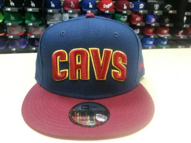 on sale 6eca0 38965 New Era NBA Cleveland Cavaliers Team 2 Tone CAVS 9fifty Snapback Cap Hat  NewEra