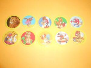 DernièRe Collection De 119 Pogs Pog Caps Milkcaps Flippo : Lot De 10 Hoppies Faire Sentir à La Facilité Et éNergique