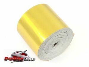 Veritable-Powerlite-UK-Or-Reflechissant-Thermique-Chaleur-Protection-Tape-50mm-X