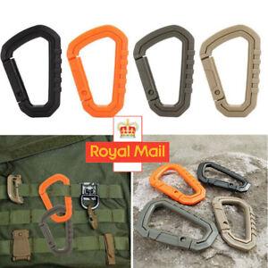 Carabiner Carabina Karabiner Clip PLA Plastic Cadet Hiking//Camping Enerdesign