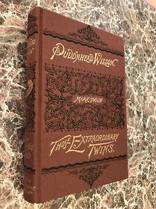 Puddinhead Wilson, Mark Twain ~ BEST Facsimile of 1894 First Edition