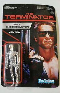 The Terminator T800 Endoskeleton  Super 7 Funko Reaction Action Figure MOC