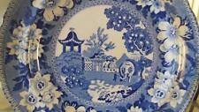 Very Rare Georgian Pearlware 'Elephant' Pattern Plate by John Rogers C 1820