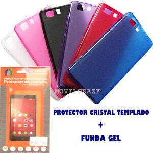 FUNDA-GEL-Y-PROTECTOR-PANTALLA-PARA-DOOGEE-X5-TRANSLUCIDA