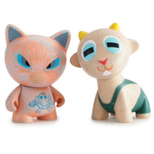 kidrobot Ferals Mini Series by Amanda Visell Dunny Munny Sealed Case of 20