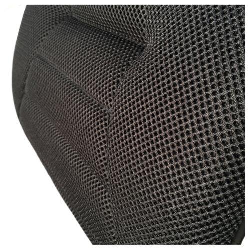 Sitwell Comfort black air 3D Rückenkissen Keilkissen Stoffkissen für Auto Büro