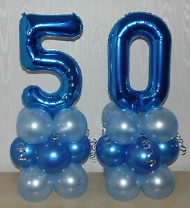 Image Is Loading 50th BIRTHDAY AGE 50 MALE PARTY FOIL BALLOON