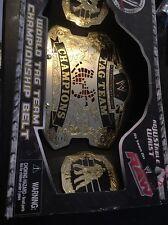 WWE World Tag Team Championship Adjustable Waist Belt As Seen On Raw New
