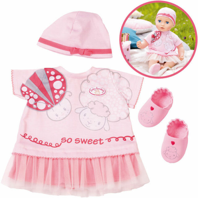 9148057a1f48 Zapf Creation Baby Annabell Deluxe Summer Dream Outfit Official for ...