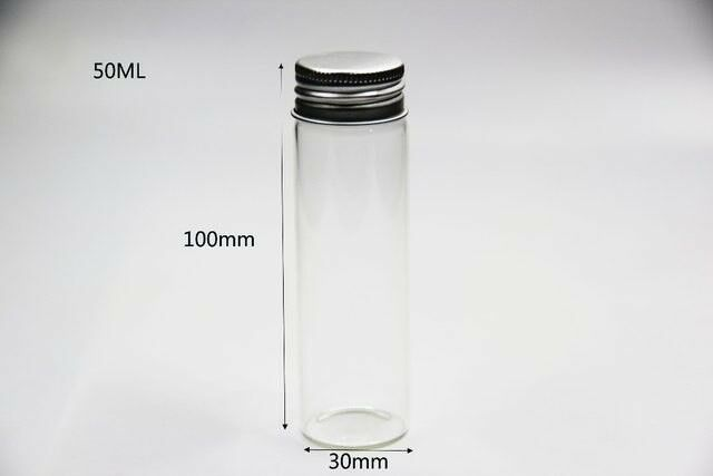 Glas, Cylinderformet Glasbeholder