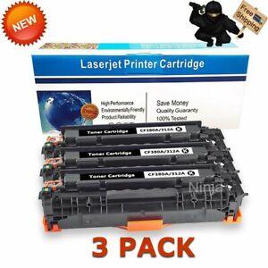 3-PK-CF380A-Black-Toner-Cartridge-for-HP-312A-Laser-Jet-Pro-MFP-M476nw-M476dn