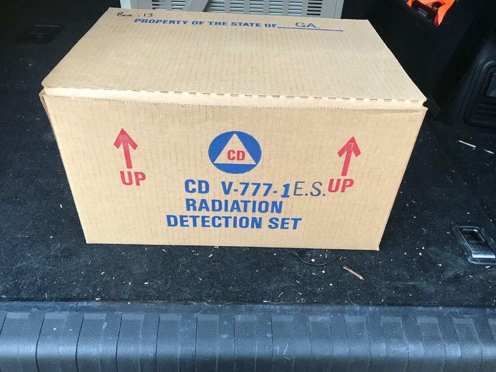 s l1600 - Civil Defense Geiger Counter V-777-1 ES