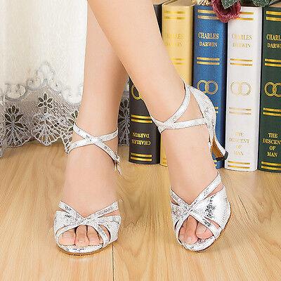 Latin dance shoes Women's Ballroom dancing shoes Salsa Tango Square dance shoes