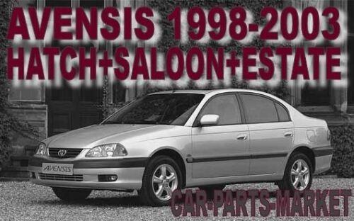 Plaque Droit Côté Conducteur Angle Large Aile Miroir De Verre Pour Toyota Avensis 97-03