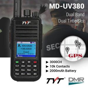 US-TYT-MD-UV380G-DMR-w-GPS-Tier-II-Dual-Band-Dual-Standby-1000CH-Two-Way-Radio