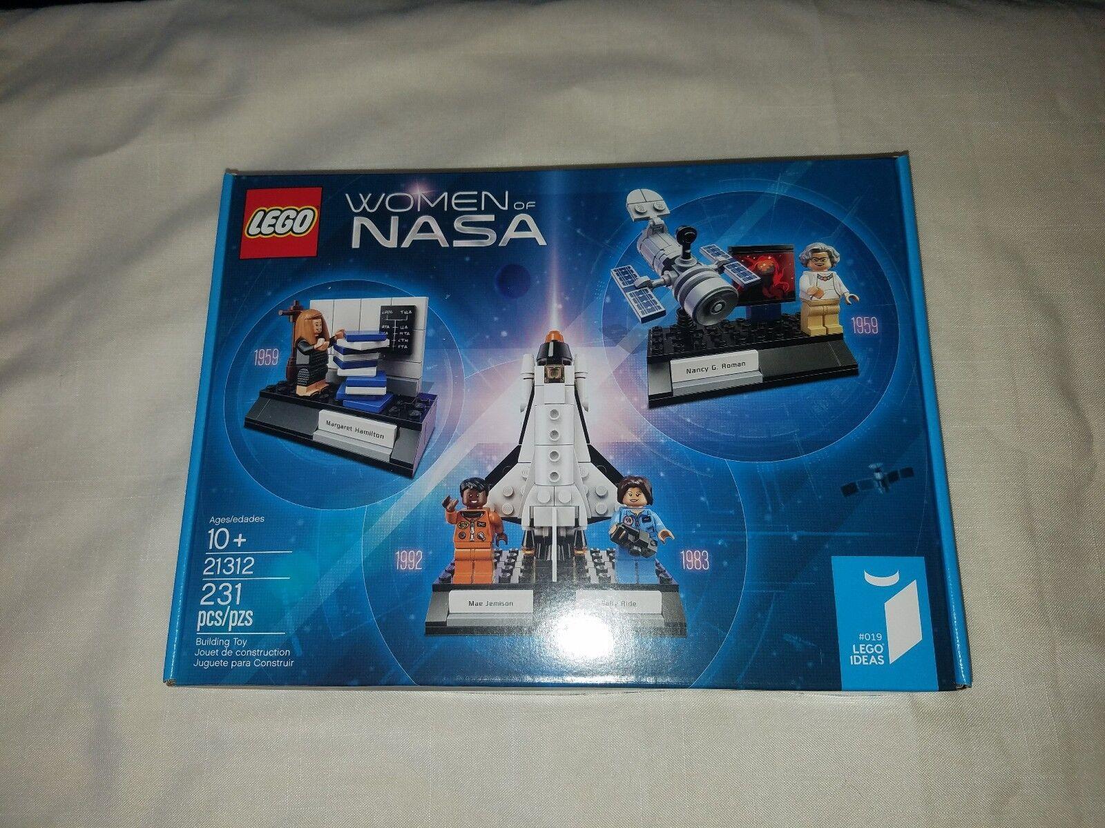 Lego 21312 Damens of NASA Building Set 231 Pieces 10+ Hamilton Roman Jemison Ride