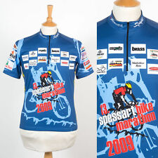 2009 SPESSART BIKE MARTAHON GERMANY CYCLING SHIRT RACE JERSEY ROAD BIKE BLUE M