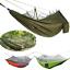 Outdoor Camping Portable Mosquito Net Nylon Hammock Hanging Bed Sleeping Swing