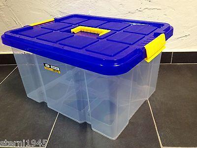Eurobox Stapelbox Lager-Box Kiste mit Deckel 44x35x24cm Neuware Aufbewahrung