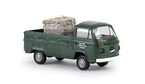 VW-Pritsche-T2-034-Papierfabrik-Muller-034-H0-Auto-Modell-1-87-Brekina-33929
