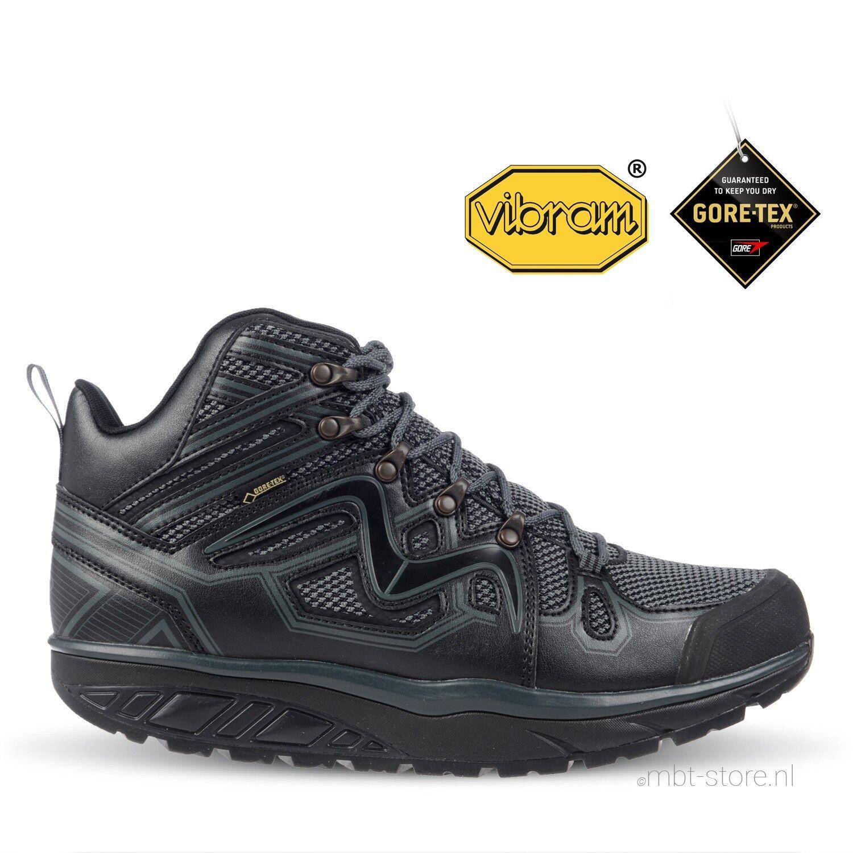 MBT Adisa Mujer Gore-Tex botas de Invierno (excursionista Walker, Vibram, Impermeable, Negro)