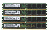 4GB 4X 1GB DDR2 PC2-6400 2RX8 800MHz 240PIN DIMM Desktop Memory RAM NON-ECC CL6