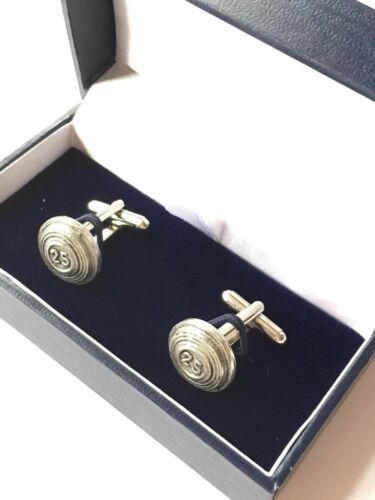Clay Pigeon Clays Hand Made Pewter Cufflinks N286 Gift Boxed