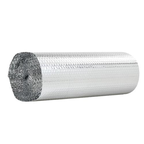 10 Sqm Double Aluminium Bubble Foil Insulation Loft Caravan Shed Home Thermal