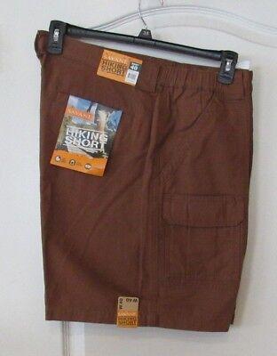 NWT Men/'s Savane Khaki Hiking Cargo Shorts MSRP $54 Size 38 40