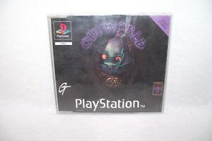 Jeu Playstation 1 Ps1 Odd World Démo Jouable Abe Oddysée Pal Oddworld Apparence Brillante Et Translucide