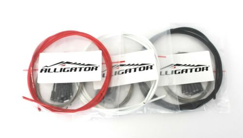 Alligator Premium Slick stainless ste Shift Gear Cable kit set for Campy Shimano