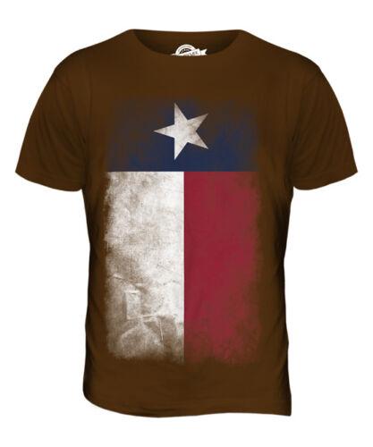 Estado de Texas Bandera se desvaneció para hombres Camiseta Camiseta Top tejano Regalo De Camisa Jersey