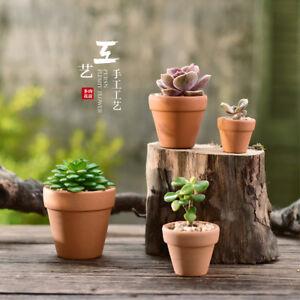 eBay & Details about 8Pcs Small Mini Terracotta Pot Clay Ceramic Pottery Planter Flower Pots