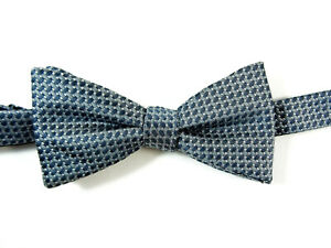 New Men/'s Pre tied bow tie Only Glitter Black wedding party prom formal