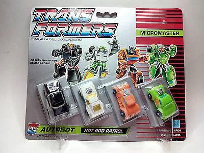 TRANSFORMERS Microcomaster - Autobot- HOT ROD PATROL  *** NEW****