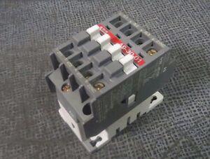 ABB CONTACTOR 21 AMP 600 VAC 110-120V COIL 7.5 HP  MODEL A9-30-01