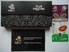 TICKET Programme Box Club Prestige UEFA Euro 2012 England - Italien Match 28