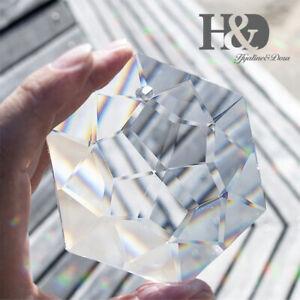 Clear-Hexagon-Crystal-Beads-Hanging-Suncatcher-Glass-Chandelier-Light-Home-Decor