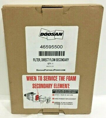 Bobcat 7221934 Air Filter Direct Flow Secondary Brand New In Orig Box