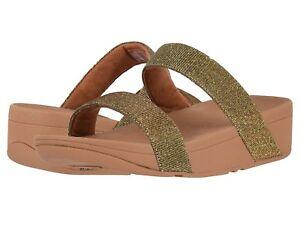 b8bb1522e1c6 Women s Shoes Fitflop LOTTIE GLITZY SLIDE Arch Support Sandals R23 ...