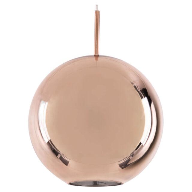 NEW Searchlight Linden Copper Dome Pendant
