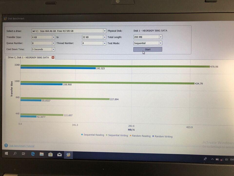 Lenovo X220i, 2 x intel CPU @ 2.1 GHz, 6 GB ram