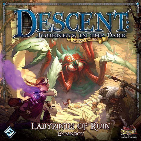 Descent  Journeys  in the Dark (2nd edizione) - Labyrinth of Ruin Expansion  vendita di fama mondiale online
