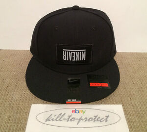PIGALLE x NIKE BASEBALL SNAP BACK CAP Collection Basketball Black ... 39ae8446d7d