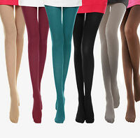 Fall Sexy Women 120D Velvet Opaque Footed Tights Pantyhose Thick Stockings Socks