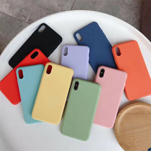 For-iPhone-Xs-Max-XR-8-7-Plus-Full-Protective-Soft-Flexible-TPU-Cover